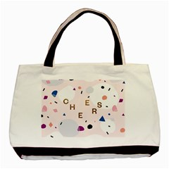 Cheers Polkadot Circle Color Rainbow Basic Tote Bag (two Sides) by Mariart