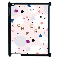 Cheers Polkadot Circle Color Rainbow Apple Ipad 2 Case (black) by Mariart