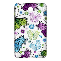 Butterfly Animals Fly Purple Green Blue Polkadot Flower Floral Star Samsung Galaxy Tab 4 (8 ) Hardshell Case  by Mariart