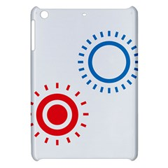 Color Light Effect Control Mode Circle Red Blue Apple Ipad Mini Hardshell Case by Mariart