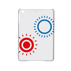 Color Light Effect Control Mode Circle Red Blue Ipad Mini 2 Hardshell Cases by Mariart