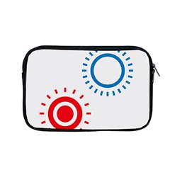 Color Light Effect Control Mode Circle Red Blue Apple Macbook Pro 13  Zipper Case by Mariart