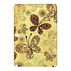 Butterfly Animals Fly Purple Gold Polkadot Flower Floral Star Sunflower Samsung Galaxy Tab Pro 10 1 Hardshell Case by Mariart
