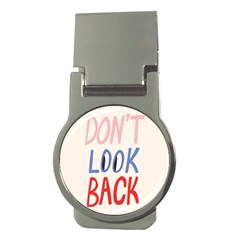 Don t Look Back Big Eye Pink Red Blue Sexy Money Clips (round)  by Mariart