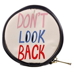 Don t Look Back Big Eye Pink Red Blue Sexy Mini Makeup Bags by Mariart