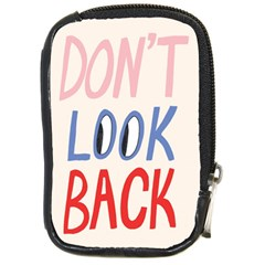 Don t Look Back Big Eye Pink Red Blue Sexy Compact Camera Cases by Mariart