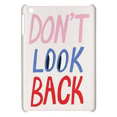 Don t Look Back Big Eye Pink Red Blue Sexy Apple Ipad Mini Hardshell Case by Mariart