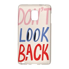 Don t Look Back Big Eye Pink Red Blue Sexy Galaxy Note Edge by Mariart