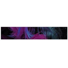 Feathers Quill Pink Black Blue Flano Scarf (large) by Mariart