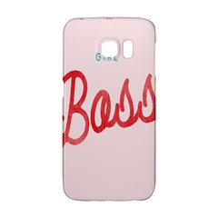 Girl Boss Pink Red Blue Sexy Galaxy S6 Edge by Mariart
