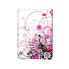 Wreaths Frame Flower Floral Pink Black Ipad Mini 2 Hardshell Cases by Mariart