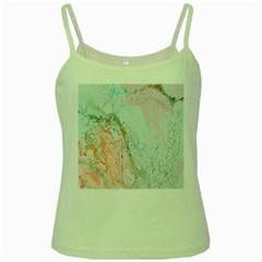 Geode Crystal Pink Blue Green Spaghetti Tank by Mariart