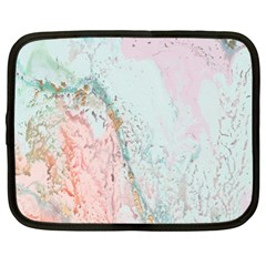 Geode Crystal Pink Blue Netbook Case (xl)  by Mariart