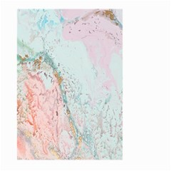 Geode Crystal Pink Blue Large Garden Flag (two Sides) by Mariart