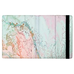 Geode Crystal Pink Blue Apple Ipad 3/4 Flip Case by Mariart