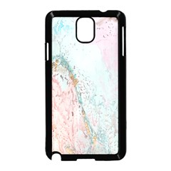 Geode Crystal Pink Blue Samsung Galaxy Note 3 Neo Hardshell Case (black)