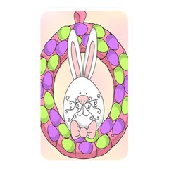 Make An Easter Egg Wreath Rabbit Face Cute Pink White Memory Card Reader by Mariart