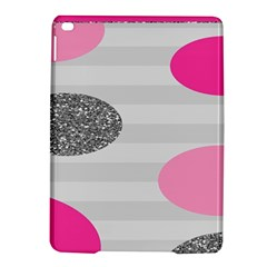 Polkadot Circle Round Line Red Pink Grey Diamond Ipad Air 2 Hardshell Cases by Mariart