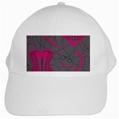 Pink Black Handcuffs Key Iron Love Grey Mask Sexy White Cap by Mariart