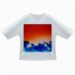 Simulate Weather Fronts Smoke Blue Orange Infant/toddler T Shirts