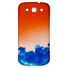 Simulate Weather Fronts Smoke Blue Orange Samsung Galaxy S3 S Iii Classic Hardshell Back Case by Mariart
