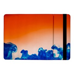 Simulate Weather Fronts Smoke Blue Orange Samsung Galaxy Tab Pro 10 1  Flip Case by Mariart