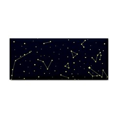 Star Zodiak Space Circle Sky Line Light Blue Yellow Cosmetic Storage Cases by Mariart
