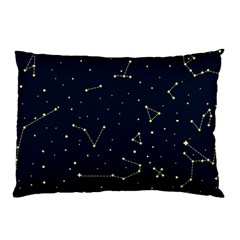 Star Zodiak Space Circle Sky Line Light Blue Yellow Pillow Case (two Sides) by Mariart