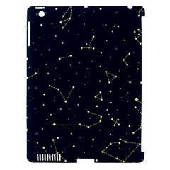 Star Zodiak Space Circle Sky Line Light Blue Yellow Apple Ipad 3/4 Hardshell Case (compatible With Smart Cover) by Mariart