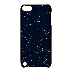 Star Zodiak Space Circle Sky Line Light Blue Yellow Apple Ipod Touch 5 Hardshell Case With Stand by Mariart