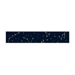 Star Zodiak Space Circle Sky Line Light Blue Yellow Flano Scarf (mini) by Mariart