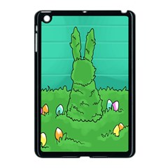 Rabbit Easter Green Blue Egg Apple Ipad Mini Case (black) by Mariart