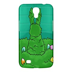 Rabbit Easter Green Blue Egg Samsung Galaxy Mega 6 3  I9200 Hardshell Case by Mariart
