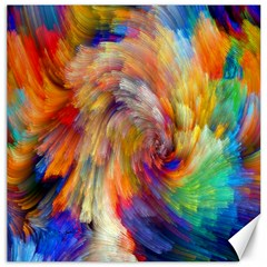 Rainbow Color Splash Canvas 20  X 20   by Mariart