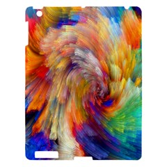 Rainbow Color Splash Apple Ipad 3/4 Hardshell Case by Mariart