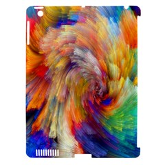 Rainbow Color Splash Apple Ipad 3/4 Hardshell Case (compatible With Smart Cover) by Mariart