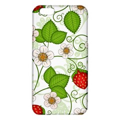 Strawberry Fruit Leaf Flower Floral Star Green Red White Iphone 6 Plus/6s Plus Tpu Case by Mariart