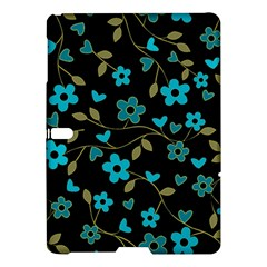 Floral Pattern Samsung Galaxy Tab S (10 5 ) Hardshell Case