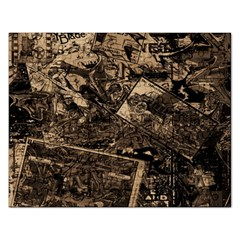 Vintage Newspaper  Rectangular Jigsaw Puzzl