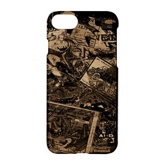 Vintage Newspaper  Apple Iphone 7 Hardshell Case by Valentinaart