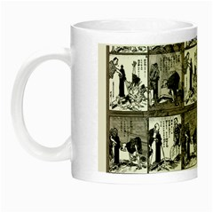 Comic Book  Night Luminous Mugs by Valentinaart