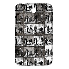 Comic Book  Samsung Galaxy Tab 3 (7 ) P3200 Hardshell Case  by Valentinaart