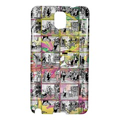 Comic Book  Samsung Galaxy Note 3 N9005 Hardshell Case by Valentinaart