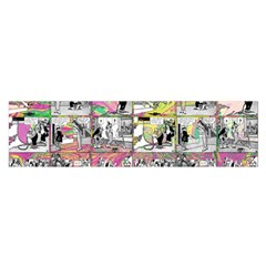 Comic Book  Satin Scarf (oblong)