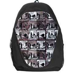 Comic Book  Backpack Bag by Valentinaart
