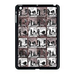 Comic Book  Apple Ipad Mini Case (black) by Valentinaart