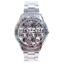 Comic Book  Stainless Steel Analogue Watch by Valentinaart