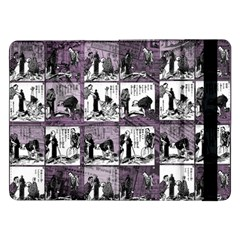 Comic Book  Samsung Galaxy Tab Pro 12 2  Flip Case by Valentinaart