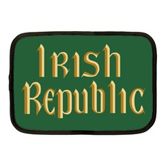 The Irish Republic Flag (1916, 1919 1922) Netbook Case (medium)  by abbeyz71
