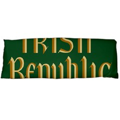 The Irish Republic Flag (1916, 1919 1922) Body Pillow Case Dakimakura (two Sides) by abbeyz71